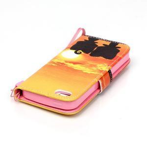 Peněženkové pouzdro na mobil iPhone SE / 5s / 5 - zapadající slunce - 5