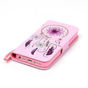 Peněženkové pouzdro na mobil iPhone SE / 5s / 5 - dream - 5