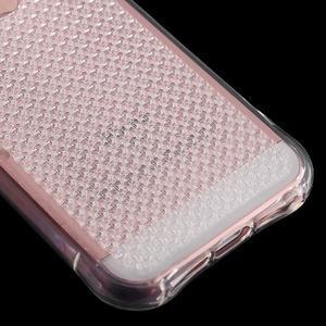 Diamonds gelový obal se silným obvodem na iPhone SE / 5s / 5 - transparentní - 5
