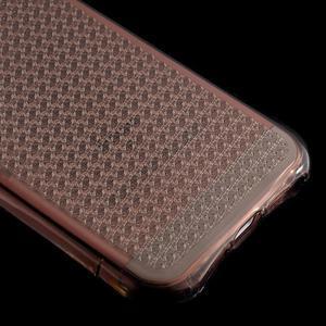 Diamonds gelový obal se silným obvodem na iPhone SE / 5s / 5 - šedý - 5