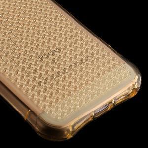 Diamonds gelový obal se silným obvodem na iPhone SE / 5s / 5 - zlatý - 5