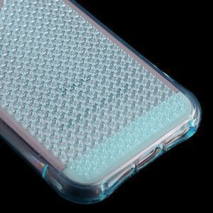 Diamonds gelový obal se silným obvodem na iPhone SE / 5s / 5 - modrý - 5