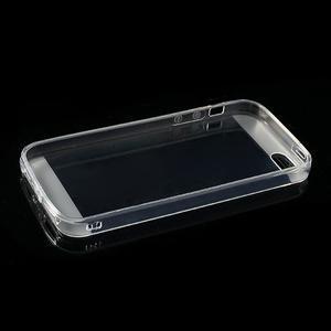 Gelový transparentní obal na iPhone SE / 5s / 5 - 5