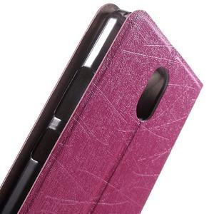 Klopové pouzdro na mobil Lenovo Vibe P1m - rose - 5