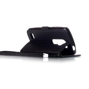 Magicfly pouzdro na mobil LG Leon - černé - 5
