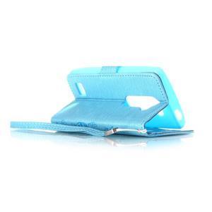 Magicfly pouzdro na mobil LG Leon - modré - 5