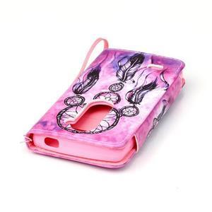 Royal pouzdro na mobil s magnetickou sponou na LG Leon - snění - 5