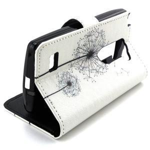 Style peněženkové pouzdro na LG Leon - pampelišky - 5