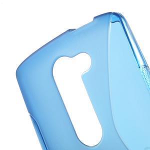 S-line gelový obal na mobil LG Leon - modrý - 5