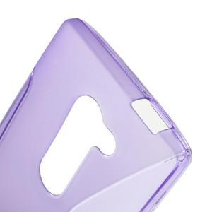 S-line gelový obal na mobil LG Leon - fialový - 5