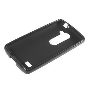 Matný gelový obal na mobil LG Leon - černý - 5
