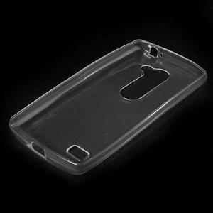 Ultratenký gelový obal na mobil LG Leon - transparentní - 5