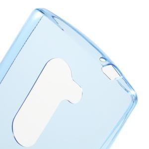 Ultratenký gelový obal na mobil LG Leon - modrý - 5