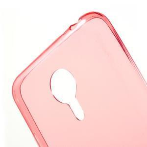 Ultratenký gelový obal na mobil Meizu MX5 - červené - 5