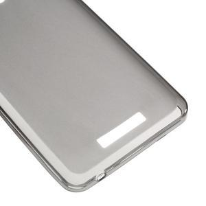 Gelový obal na mobil Lenovo A5000 - šedé - 5
