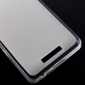 Gelový obal na mobil Lenovo A5000 - transparentní - 5