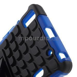 Odolné pouzdro na Lenovo K3 Note a Lenovo A7000 - modré - 5