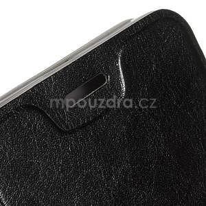 Hardy peněženkové pouzdro na Lenovo A7000 a Lenovo K3 Note - černé - 5