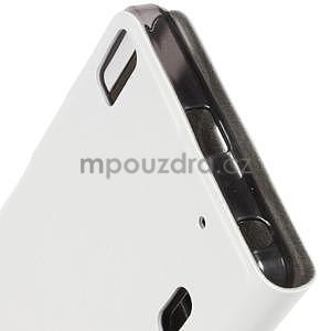 Hardy peněženkové pouzdro na Lenovo A7000 a Lenovo K3 Note - bílé - 5