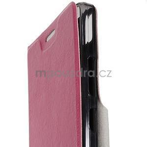 Hardy peněženkové pouzdro na Lenovo A7000 a Lenovo K3 Note - rose - 5