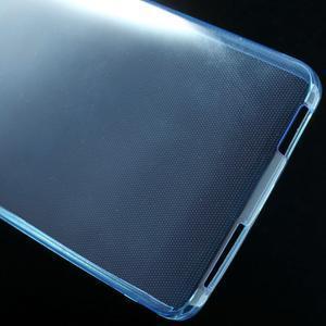 Ultratenký slim gelový obal na Xiaomi Mi4 - modrý - 5