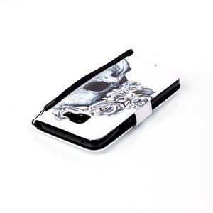 Pictu pouzdro na mobil Samsung Galaxy A3 (2016) - lebka - 5