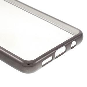 Rich gelový obal s šedým obvodem na Samsung Galaxy A3 (2016) - 5