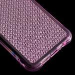 Diamonds gelový obal na Samsung Galaxy A3 (2016) - růžový - 5/5