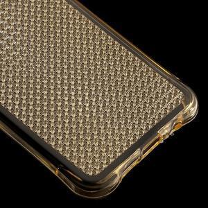 Diamonds gelový obal na Samsung Galaxy A3 (2016) - zlatý - 5