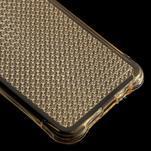 Diamonds gelový obal na Samsung Galaxy A3 (2016) - zlatý - 5/5