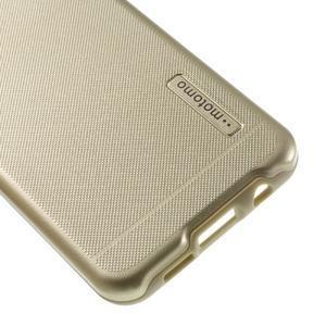 Odolný ochranný obal 2v1 na mobil Samsung Galaxy A3 (2016) - zlatý - 5