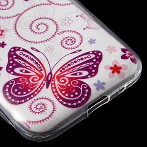 Ultratenký slim obal na Samsung Galaxy Core Prime - motýlek - 5