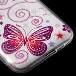 Ultratenký slim obal na Samsung Galaxy Core Prime - motýlek - 5/5