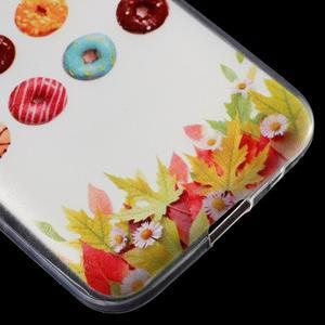 Ultratenký slim obal na Samsung Galaxy Core Prime - donuts - 5