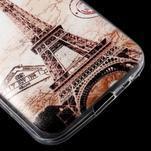 Ultratenký slim obal na Samsung Galaxy Core Prime - Eiffelova věž - 5/5