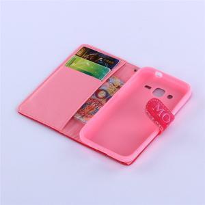 Standy peněženkové pouzdro na Samsung Galaxy Core Prime - nejlepší mamka - 5