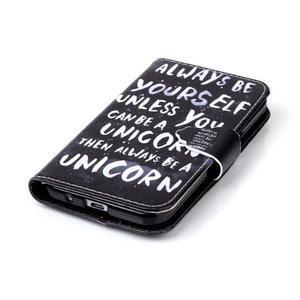 Emotive peněženkové pouzdro na Samsung Galaxy Core Prime - unicorn - 5