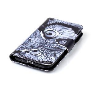 Emotive peněženkové pouzdro na Samsung Galaxy Core Prime - sova - 5