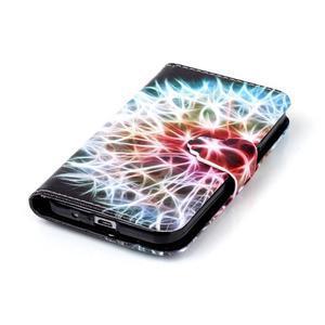 Emotive peněženkové pouzdro na Samsung Galaxy Core Prime - barevná pampeliška - 5