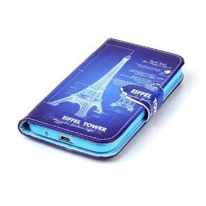 Emotive peněženkové pouzdro na Samsung Galaxy Core Prime - Eiffelova věž - 5
