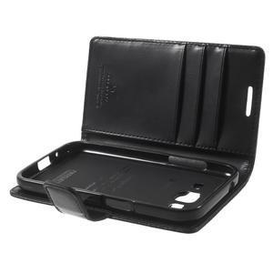 Moonleather PU kožené pouzdro na Samsung Galaxy Core Prime - černé - 5