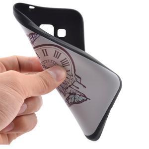 Hardy gelový obal na mobil Samsung Galaxy Core Prime - antické hodiny - 5