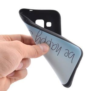 Hardy gelový obal na mobil Samsung Galaxy Core Prime - be happy - 5