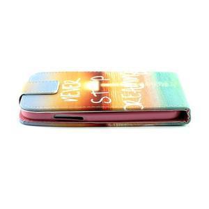 Flipové pouzdro na mobil Samsung Galaxy Core Prime - nepřestávej snít - 5