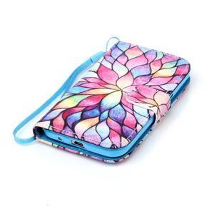 Pictu pouzdro na mobil Samsung Galaxy Core Prime - malované květy - 5