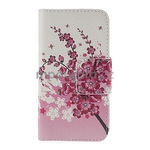 Zapínací pouzdro pro Samsung Galaxy J1 - kvetoucí větvička - 5