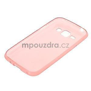 Ultra tenký obal pro Samsung Galaxy J1 - růžový - 5