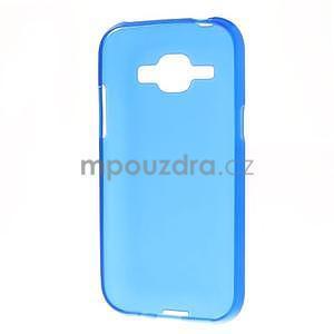 Modrý matný kryt na Samsung Galaxy J1 - 5