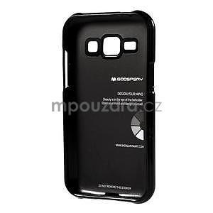 Černý gelový obal na Samsung Galaxy J1 - 5