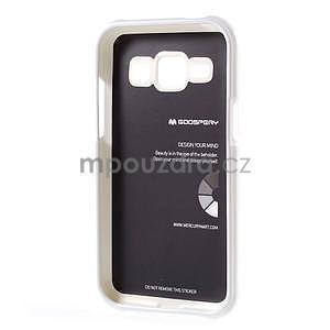 Bílý gelový obal na Samsung Galaxy J1 - 5